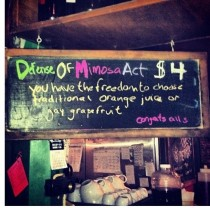 Portland bar celebrating DOMA defeat in a very Portland way