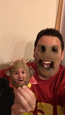 Potato face swap has to be the most terrifying one yet