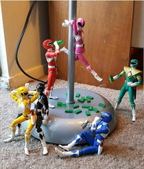 Power Rangers gone wild