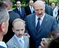 President of Belarus and his Mini-Me