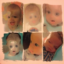 Printed some photos of my son using the wrong side of the photo paper nightmare fuel