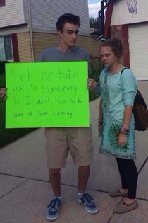 Probably the best Homecoming proposal Ive seen