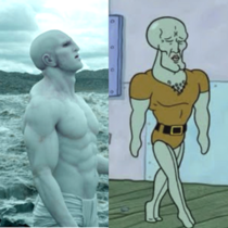 Prometheus Squidward