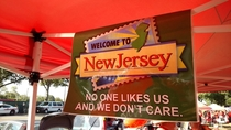 Proud to be from New Jersey