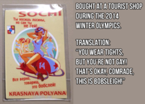 Purchased by a friend who doesnt speak Russian during the Sochi olympics