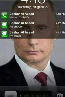 Putins Cellphone