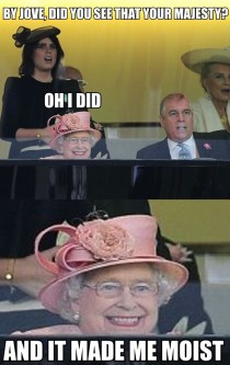 Queen Elizabeth ll really does have a creepy smile
