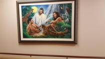 Questionable painting in my local hospital