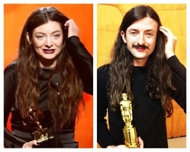 Ran into a guy at a bar last night couldnt help telling him he looked like a male version of Lorde He told me to google male lorde His picture was the top hit
