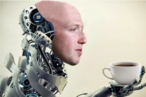 Rare picture of Mark Zuckerberg enjoying his morning human beverage
