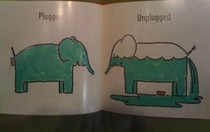 Reading a picture book with my niece when butt plugs