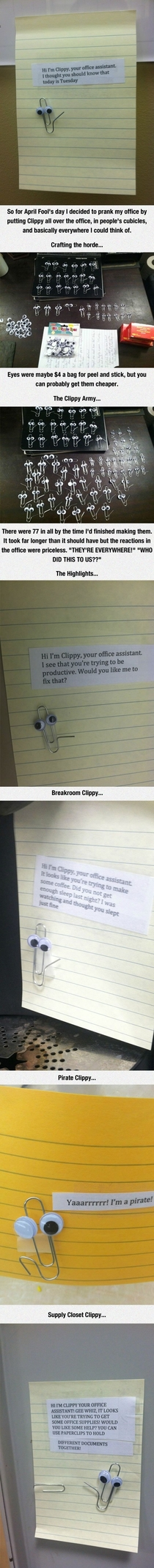 Real-life Clippy