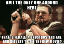 Rebooting a film and making the lead characters female does not guarantee a female audience