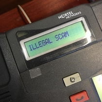 Received a scam call at work How did I know it was a scam you ask