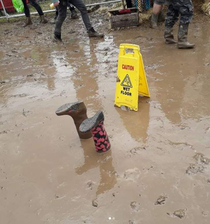 Recent washout due to heavy rain at download festival has gone too far this year