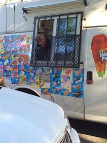 Recently moved to an up-and-coming neighborhood This is our ice cream truck