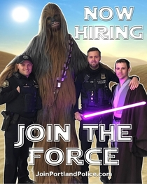 Recruitment tactics at my local Police Department