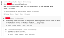 Reddit bot seems to have been harassing this poor guy