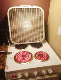 Redneck space heater