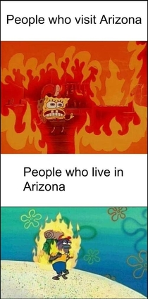 Regarding of our first -degree day in AZ