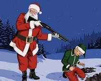 Remember everytime Christmas is mentioned in November Santa is forced to execute another elf