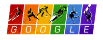 Remember how Russia passed an anti-gay law Check out the colors of todays Google Doodle for the Winter Games