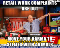 Retail work complaints are out