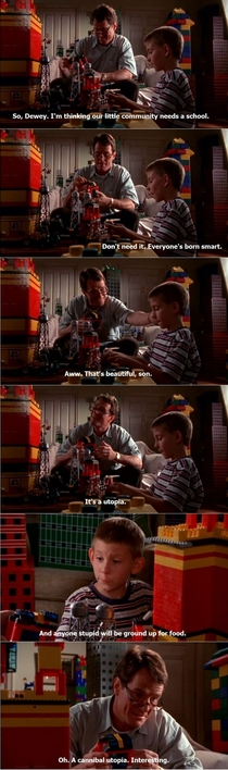 Rewatching Malcolm in the Middle is always the right choice