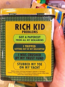 Rich Kid Band-Aids