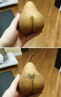 Riding pear-back