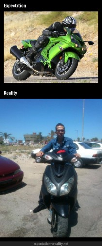 Riding your motorcycle