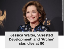 RIP Jessica Walter but I just read the first line and got mad at the police lol