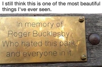 RIP Roger Bucklesby