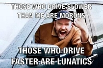Road Rage in a Nutshell