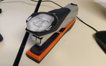 Rob Schneider isa stapler Rated PG-