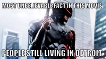 Robocop so sci-fi