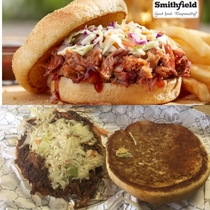Roy Rogers Pulled Pork Sandwich