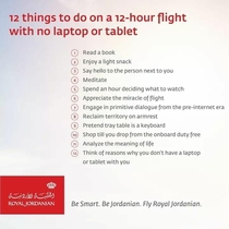 Royal Jordanian reacting to recent travel bans