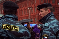 Russian police Oh the irony