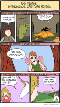 Sad Truths About Mythical Creatures