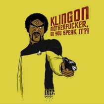 Samuel L Jackson makes a better Klingon than Jedi