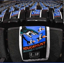 San Jose Sharks stepping up their towel game