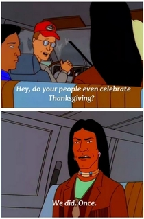 Savage Thanksgiving Burn King of the Hill