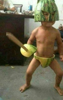 save himself by watermelon sword