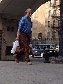 Saw Puerto Rican Bill Murray in Harlem today
