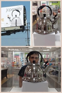 Saw the Hitler Kettle at JCPenney In a glass case none the less