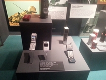 saw the Razr at the museum i now feel old