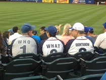 Saw these teammates at the game