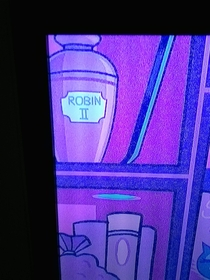 Saw this in Batmans cave in Teen Titans Go