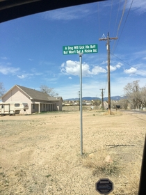 Saw this while driving around Colorado